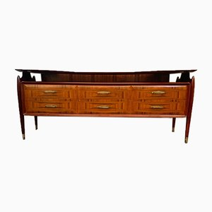 Veneered Rosewood Chest of Drawers, 1950s