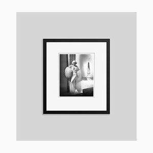 Jean Harlow in Dinner at Eight Archival Pigment Print Framed in Black by Everett Collection