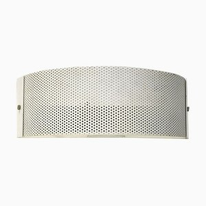 Perforated Metal Wall Sconce, 1980s