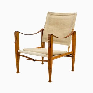 Safari Armchair by Kaare Klint for Rud. Rasmussen, 1950s