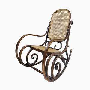Antique No. 1 Rocking Chair by Michael Thonet