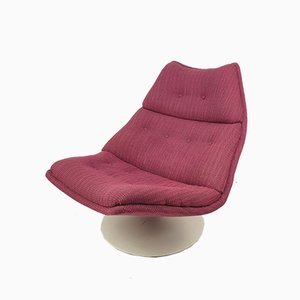 F511 Swivel Lounge Chair by Geoffrey Harcourt for Artifort, 1960s