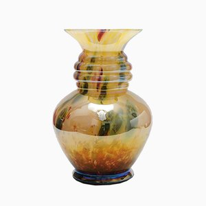 Large Millefiori Glass Vase from Wilhelm Kralik Sohn, 1920s