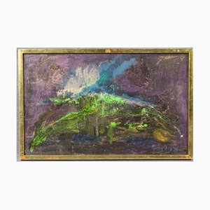 Pittura ad olio astratta di Minne Fry