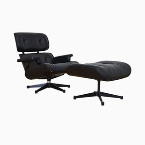 Eames Lounge Chair with Ottoman by Charles & Ray Eames for Vitra, 1950s