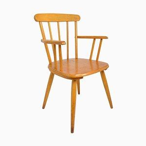 Mid-Century Wooden High Children's Chair from Herlag, 1960s