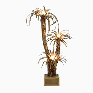 Palm Tree Floor Lamp from Maison Jansen