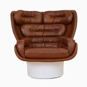 Modell Elda Sessel von Joe Colombo für Comfort Italy