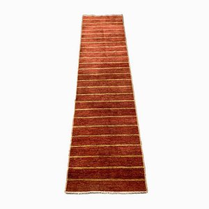 Ziegler Afghan Chobi Runner Rug in Red and Yellow, 1950s