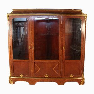 Plating and Gilt Bronze Rosewood Wall Unit