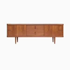MId-Century Danish 3-Stripe Sideboard in Teak by HW Klein for Bramin, 1960s