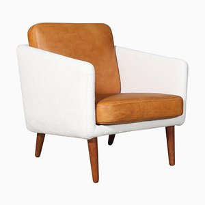 Model 201 Lounge Chair by Børge Mogensen for Fredericia, 1960s