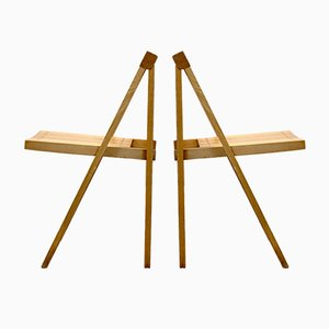 Folding Chair by Aldo Jacober for Alberto Bazzani