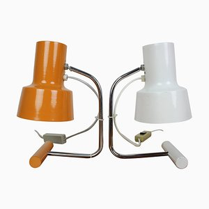 Table Lamps by Josef Hurka for Napako, 1970s, Set of 2
