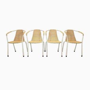 Vintage Industrial Wire Garden Chair Set