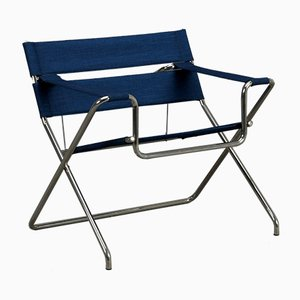 Blue D4 Folding Armchair from Tecta, 2000s