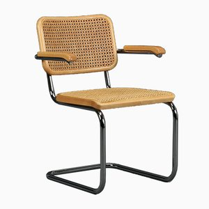 Beech S64 Cantilever Chair by Marcel Breuer for Thonet, 1990s