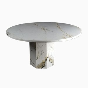 Paonazza Marble Table, 1970s