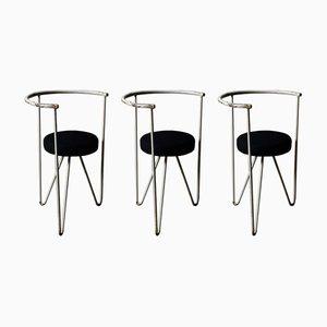 Minimalist Tripod Chairs, 1960s, Set of 3