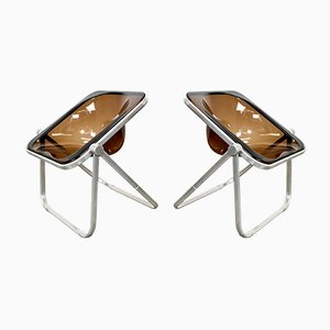 Plona Chairs by Giancarlo Piretti for Castelli, 1970s, Set of 2