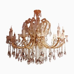 Large Maria Theresa 20-Light Chandelier, Italy, 1960s