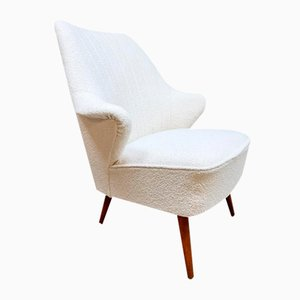 Mid-Century Wingback Lounge Chair by Theo Ruth for Artifort, 1950s