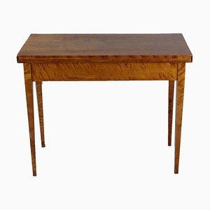 Antique Folding Console Table