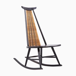 Dr. No Rocking Chair by Ilmari Tapiovaara for Asko, Finland, 1960s