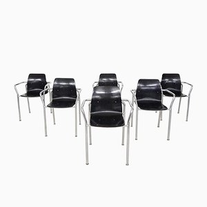 Bauhaus Chairs from Pagholz, Germany, 1950s, Set of 6
