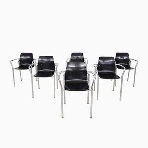 Bauhaus Stühle von Pagholz, Deutschland, 1950er, 6er Set