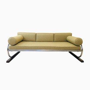 Bauhaus Sofa aus Stahlrohr von Robert Slezak, 1930er