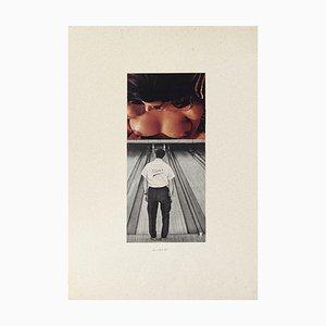 Player - Original Collage von Sergio Barletta - 1975 1975