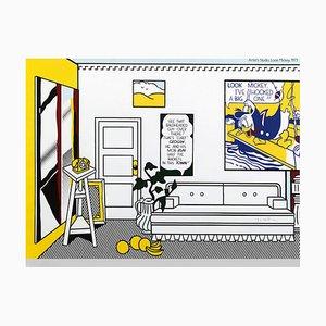 Artist's Studio - Look Mickey - Offsetdruck und Lithografie - 1982 1982