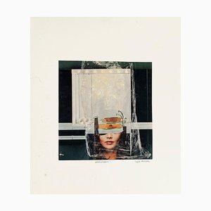Washdream - Original Collage and Tempera by Sergio Barletta - 1985 1985