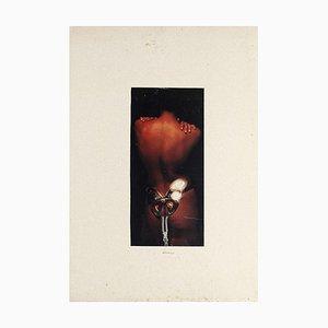 Nude - Original Collage par Sergio Barletta - 1975 1975