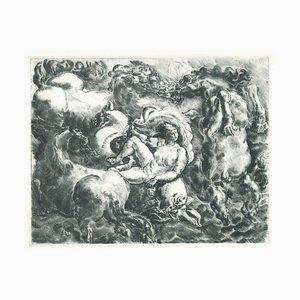 The Birth of Europe - Originale Radierung auf Papier - 20. Jahrhundert 20. Jahrhundert
