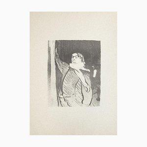 Aristide Bruant - Lithograph after Henri de Toulouse-Lautrec - 1970s 1970s