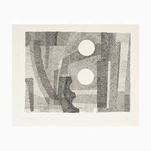 Gravure à l'Eau-Forte Venice Two - Original par Giovanni Korompay - 1928 1928