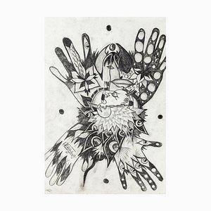 Composición - Original Monotype on Cardboard de Valerio Romagnoli - Siglo XX Siglo XX