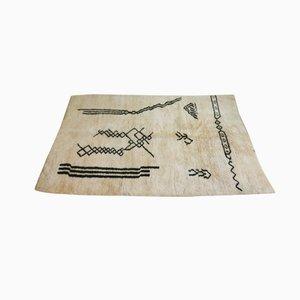 Moroccan Beni Ourain Woollen Rug
