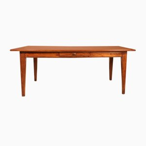 Antique French Refectory Table in Chestnut
