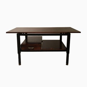 Mid-Century Italian Rosewood Coffee Table, 1960s