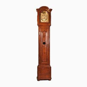 Antique Cherry Wood & Oak Clock