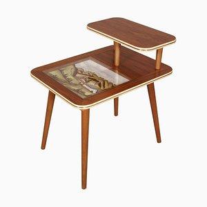 Tavolino da caffè Mid-Century moderno decorativo di Ico Parisi