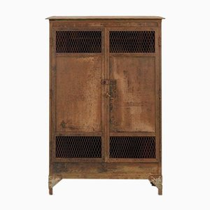 19th-Century Industrial Factory Wardrobe