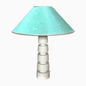 German Sculptural Glazed Ceramic Table Lamp, 1960s