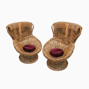 Margherita Lounge Chairs by Franco Albini, 1960s, Set of 2