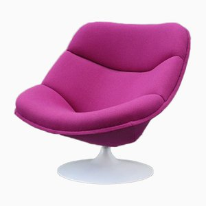 Mid-Century Model F557 Lounge Chair by Pierre Paulin for Artifort