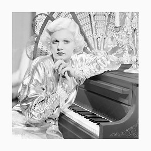 Jean Harlow in Bombshell Archival Pigment Print Framed in White by Everett Collection