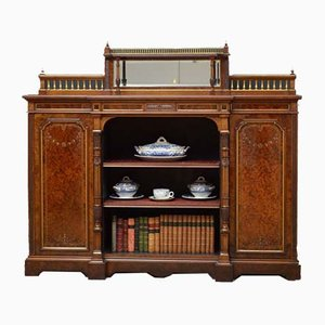 Victorian Amboyna Bookcase from Gillow & Co